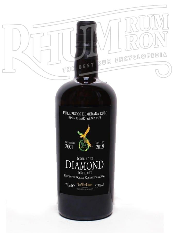 Diamond 2001/2019 18 ans 57,3% The Wild Parrot