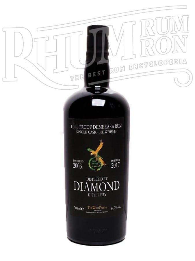 Diamond 2003/2017 14 ans 54,7% The Wild Parrot
