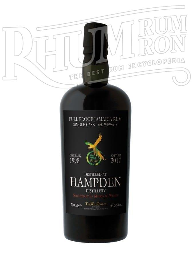 Hampden 1998/2017 19 ans  64,5% The Wild Parrot